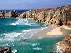 Cornwall, England. I've been here many times and never tire of Cornwall's rugged coastline.