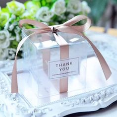 Pack of 50 Matte or Clear PVC Wedding Favor Boxes with Stickers Cookie Chocolate Macaroon Sweets Boxes Baby Shower Thank You Gift Boxes Wedding Favors And Gifts, Wedding Gift Boxes, Macaroon Wedding Favors, Wedding Hamper, Party Favors, Craft Wedding, Party Gifts, Diy Wedding, Clear Favor Boxes