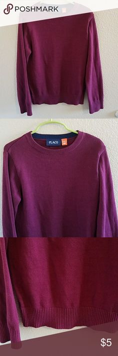 Children's Place Boys Maroon Sweater Size Small Handsome Children's Place Boys Maroon Sweater Size Small 5/6 Great overall Condition with a Minor Imperfection as shown in the last pic, Not a hole Children's Place Shirts & Tops Sweaters
