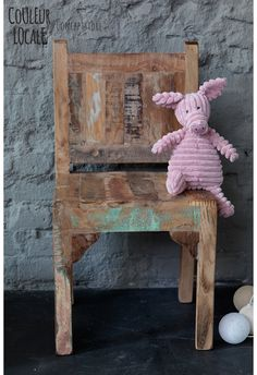 Scrapwood Children Chair -  www.couleurlocale.eu