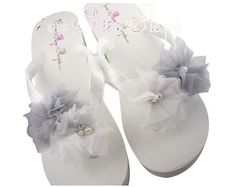 e4940cb16d3e Etsy    Your place to buy and sell all things handmade Bridal Flip Flops