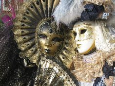 Night Venice Carnival Masks | Favorite tribe: Aztecs... and a lot of others!!