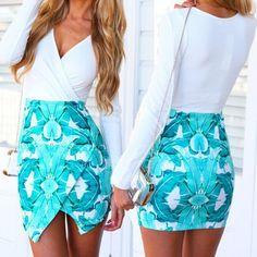 Sexy Print Dress