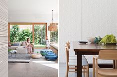 This bright and airy extension to a California bungalow by Melbourne-based BG Architecture is all about flexible open plan living and a seamless Oasis, Melbourne, California Bungalow, Living Spaces, Living Room, Open Plan Living, House, Planer, Arquitetura