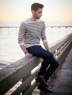 Stripe casual style ;)