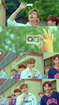 wanna one energetic mv