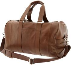 Banana Republic Leather Duffle Bag in Brown for Men (tan) | Lyst