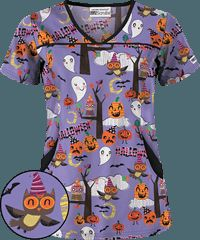 clearance scrubs affordable scrubs at uniform advantage halloween - Halloween Scrubs Uniforms