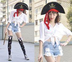 Yo Ho, Yo Ho! A pirates life for me! (CARNAVAL) (by Beatriz Saint Martin) http://lookbook.nu/look/4575193-Yo-Ho-Yo-Ho-A-pirates-life-for-me-CARNAVAL