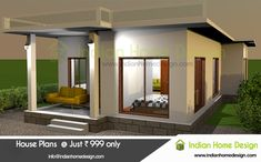 Delhi 9 Lakh new home designs House Design 3d, Modern Exterior House Designs, Kerala House Design, Villa Design, Facade Design, Exterior Design, Design Home Plans, Home Design Images, New Home Designs