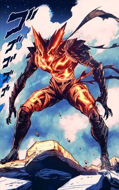 Anime Demon, Anime Manga, Anime Guys, Anime Art, Saitama One Punch Man, One Punch Man Anime, Cool Anime Wallpapers, Animes Wallpapers, Epic Characters