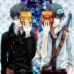 Okamura brothers #blue Exorcist
