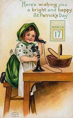 St. Patty's Day, March 17th