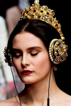 Dolce & Gabbana at Milan Fashion Week Fall 2015