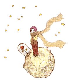 Little Prince crossover Kanae von Rosewald  (and his Rose) - Tokyo Ghoul re: