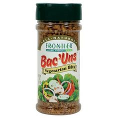 Frontier Vegetarian Bits Bac'uns, 2.7-Ounce Bottles (Pack of 6) -- For more information, click me at Quick dinner ideas board