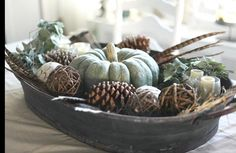 Autumn in a bowl