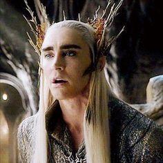 Lee Pace as Thranduil in The Hobbit Trilogy (gif) Legolas Und Thranduil, Lee Pace Thranduil, Tolkien, O Hobbit, The Hobbit Elf King, Elfa, Desolation Of Smaug, Photos Of Eyes, Fanart