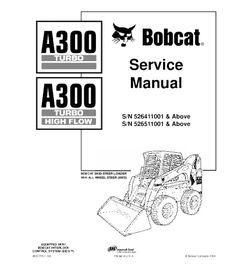 BOBCAT 620 SKID STEER LOADER SERVICE REPAIR MANUAL