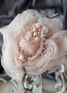 Mother of Pearls hanging styles floral styles .price per pair