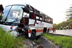 In recent times, 13 persons got injuries in a bus accident in Kansas City bus that caused to move with a flick on to its side and fall heavily to an edge after a car came in front of the bus.  The bus after that made a dangerous move in an effort to avoid collision with the car, and the accident happened. The police officers believe poor condition of road were a leading factor during the accident.