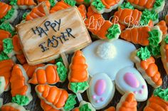 Lizy B: Easter Cookies....What's in the Garden Today?!