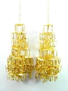 Ethnic Gold Metal Kalire - Desi Royale