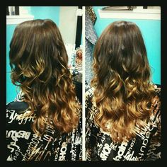Natural ombre!