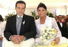 Victoria Ruffo y César Évora