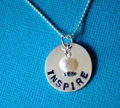 Simple yet pretty! Metal Bracelets, Metal Jewelry, Beaded Jewelry, Jewellery, Metal Stamping, Jewelry Stamping, Jewelry Crafts, Jewelry Ideas, Hand Stamped Jewelry