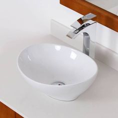 ceramic boat shaped vessel sink - Google Search
