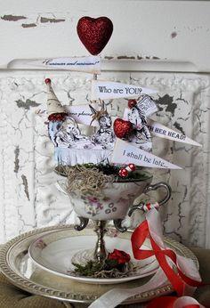 Mariages Rétro: Alice au pays du mariage