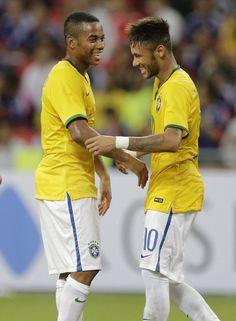 Robinho & Neymar