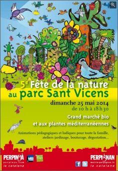 5ème fête de la nature. Le dimanche 25 mai 2014 à perpignan.