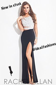 Rachel Allan is now in stock at Ideal!!! #promdressshopping #prom2k15 #promdress #rachelallan #dresses #prom #idealfashions