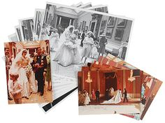 Photo collage of never-before-seen pictures from Prince Charles and Princess Diana's 1981 wedding
