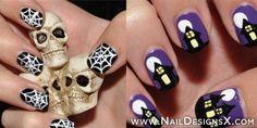 classic halloween nail art » Nail Designs & Nail Art