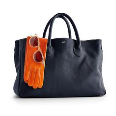 {monogrammed tote} Classic Style. Love it