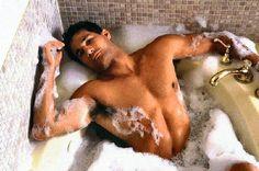 Bubble bath...