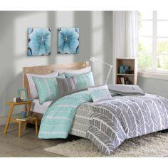 Dorm-Room-Bedding-Twin-XL-College-Essentials-Comforter-Shams-Decorative-Pillows  #dormroom #backtoschool #dormdecor #dormroombedding #dormstuff #homedecor #bedding
