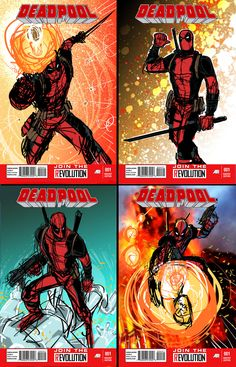 Dead Pool layouts by Joey Vazquez