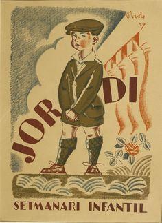 Jordi. Setmanari infantil   Museu Nacional d'Art de Catalunya