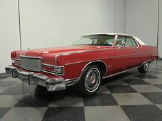 1974 Mercury Grand Marquis 2-Door Hardtop Mercury Marquis, Ford Courier, Edsel Ford, Ford Ltd, Mercury Cars, Grand Marquis, Ford Mustang Convertible, Lincoln Mercury, American Classic Cars