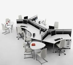 contemporary office furniture, ergonomic design ideas