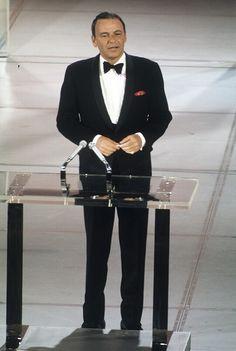 Frank Sinatra at the 1969 Academy Awards