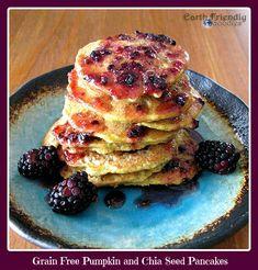 Gluten Free Pancakes: A Rather Seedy Grain Free Pancake Recipe