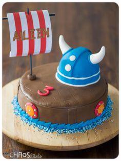 Wickie Torte Kuchen Motivkuchen Fondant