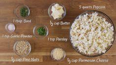 How to Make: Popcorn Con Pesto