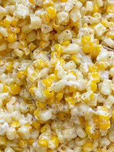 Honey Butter Skillet Corn is an easy 15 minute side dish with frozen corn, honey, butter, and cream cheese! So creamy, sweet, and delicious. Corn Recipes, Side Dish Recipes, Brunch Recipes, Vegetable Recipes, Beef Recipes, Great Recipes, Cooking Recipes, Snack Recipes, Snacks