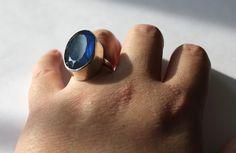 Bold Labradorite Ring by metallist on Etsy, $135.00
